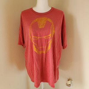 Marvel Avengers Iron Man Short Sleeve T-shirt